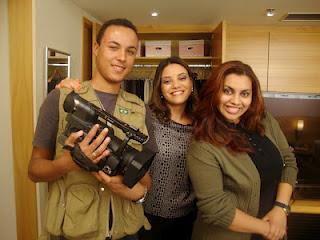 MAR/2012 Rede Brasília/Rede Tv -Making Off- Matéria Organização de Closet Feminino