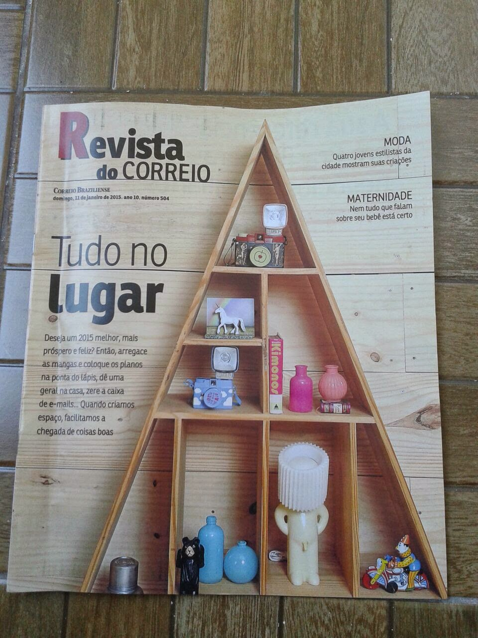 JAN/2015-Revista do Correio Braziliense - Número 504.